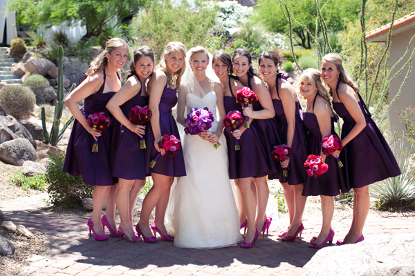 eggplant-colored-a-line-bridesmaid-dresses-with-knee-length