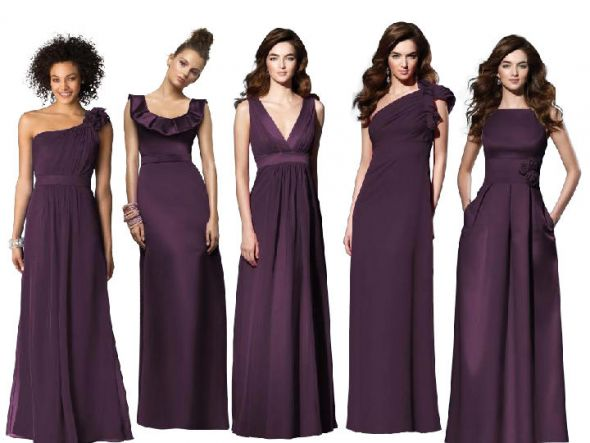 eggplant-colored-bridesmaid-dresses