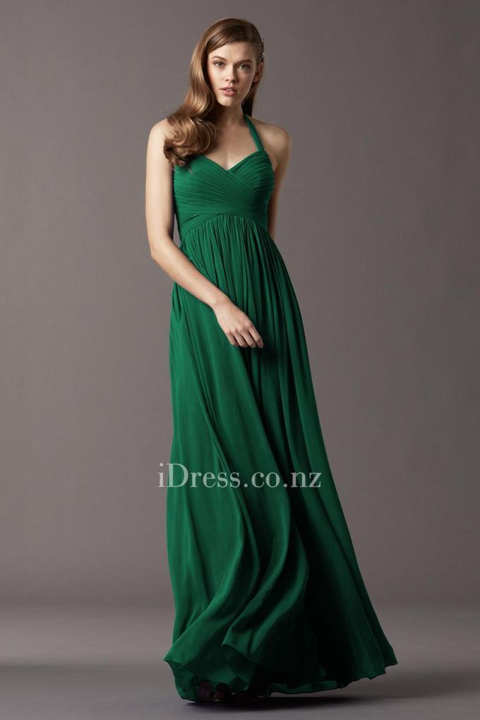 2shirred-chiffon-halter-sweetheart-bridesmaid-dress-3