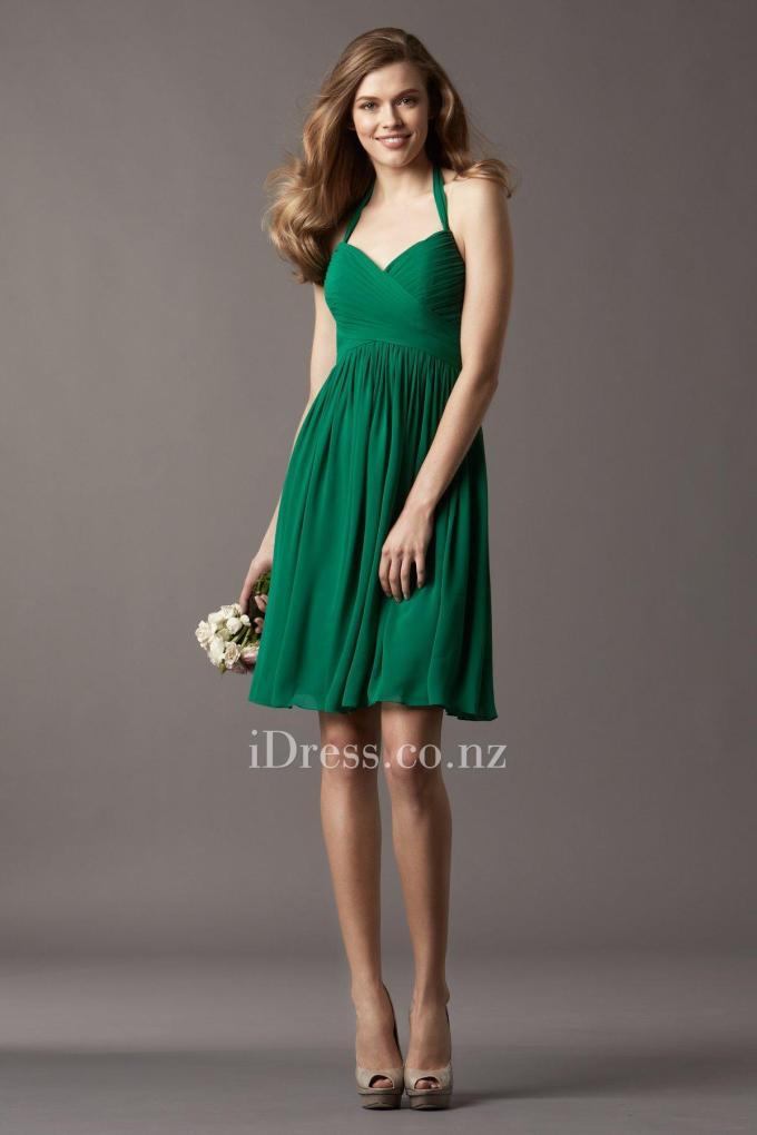 2shirred-chiffon-halter-sweetheart-neck-emerald-bridesmaid-dress-1