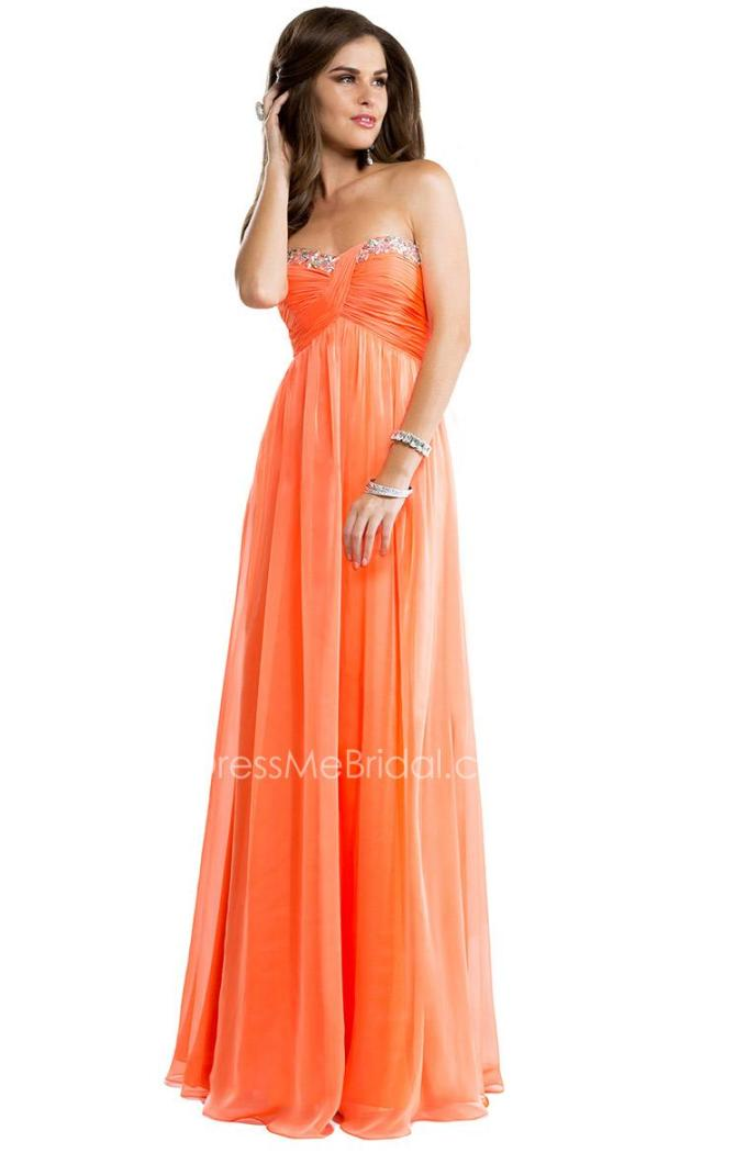 3apricot-chiffon-long-babydoll-prom-dress-1