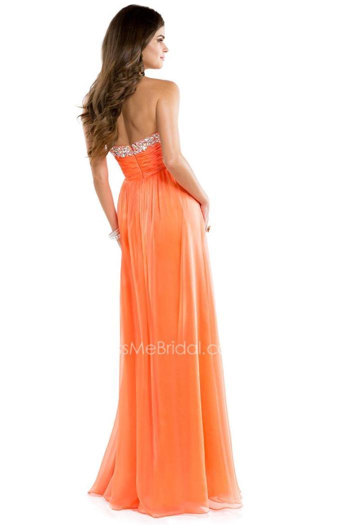3apricot-chiffon-long-babydoll-prom-dress-2