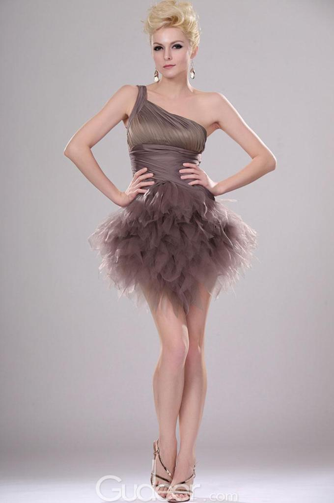 3one-shoulder-coffee-ruffled-mini-prom-tulle-dress-1