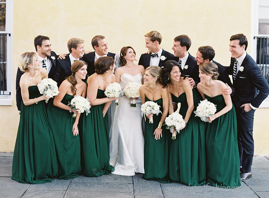Green Bridesmaid Dresses Collection 2015