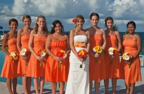 orange-bridesmaid-dresses-pinterest.
