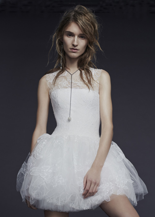4Vera-Wang-Fall-2015-short-wedding-dress-with-sheer-neckline-600x840