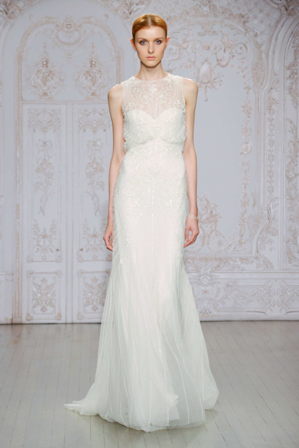 6Monique-Lhuillier-Fall-2015-column-bridal-dress-with-a-sheer-neckline-600x899