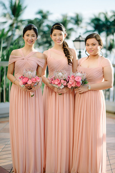 2 blush-bridesmaid-dresses
