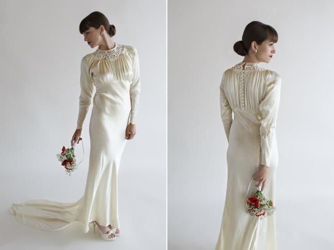 21 1930s-Satin-Bias-Cut-Wedding-Dress