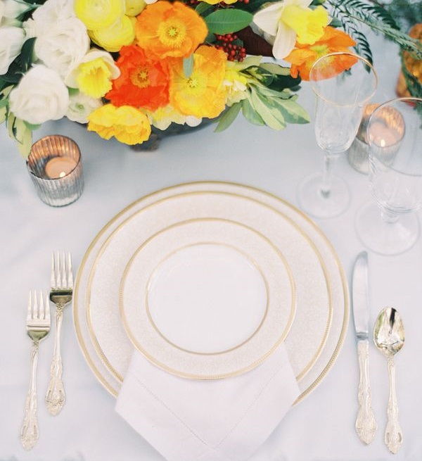 7 Yellow-Place-Setting