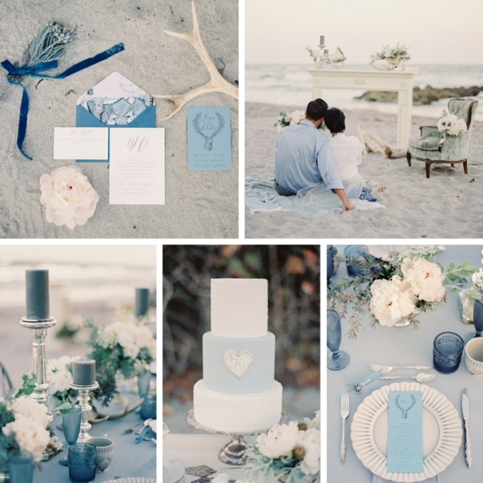 1 Sea-of-Love-A-Heavenly-Beach-Wedding-Inspiration-from-Melanie-Gabrielle-Photography