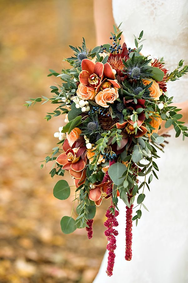 Copper-Cascading-bouquet