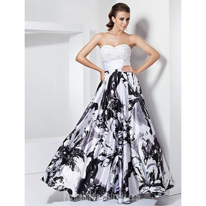 1610 Prom Gowns Australia Formal Evening Dress Military Ball Dress White Black Plus Sizes Dresses Petite A-line Princess Sweetheart Strapless Long Floor-length-800x800.jpg