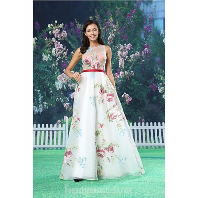 2817A-line Australia Formal Evening Dress White Long Floor-length Jewel Organza Satin-800x800.jpg