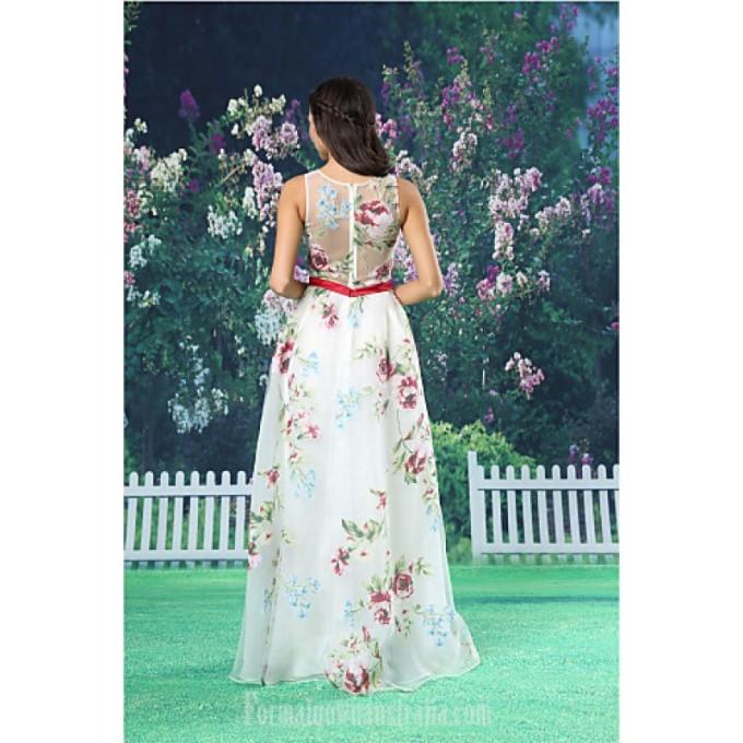 2817A-line Australia Formal Evening Dress White Long Floor-length Jewel Organza Satin_3-800x800.jpg