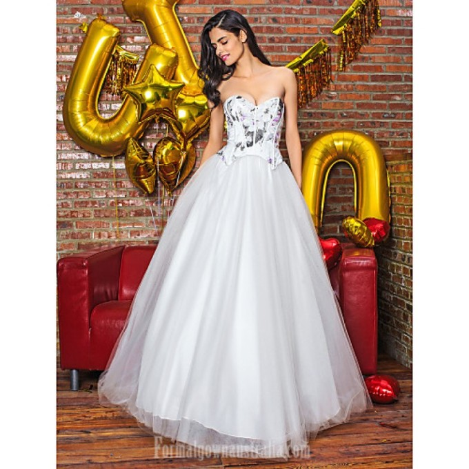 2837A-line Australia Formal Evening Dress White Long Floor-length Sweetheart Organza Satin-800x800.jpg
