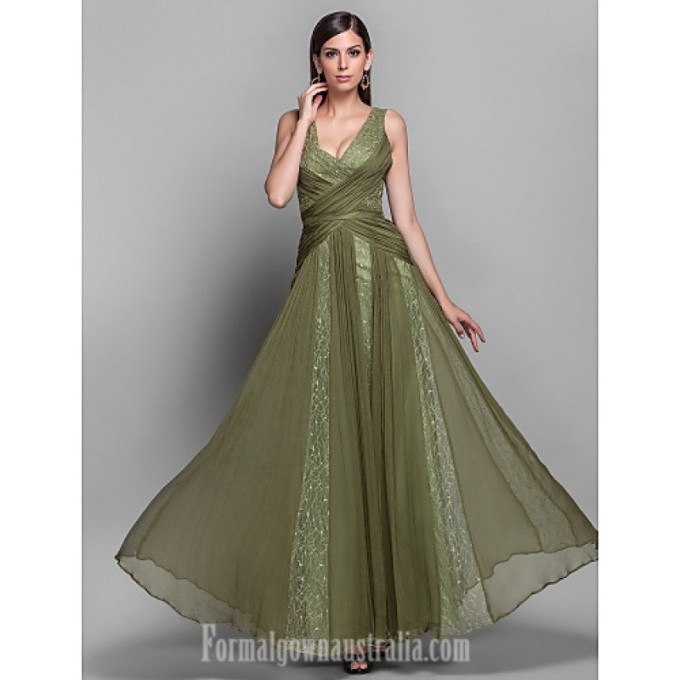 4169 Australia Formal Evening Dress Military Ball Dress Clover Plus Sizes Dresses Petite A-line Princess V-neck Long Floor-length Chiffon Lace-800x800.jpg