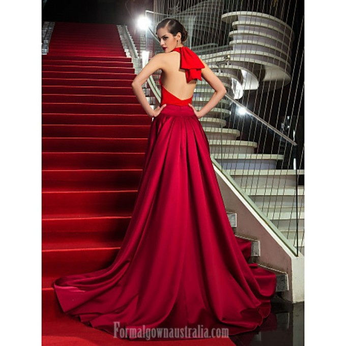 2407 Military Ball Australia Formal Evening Dress Multi-color Plus Sizes Dresses Petite A-line Halter Asymmetrical Jersey Satin_2-800x800.jpg