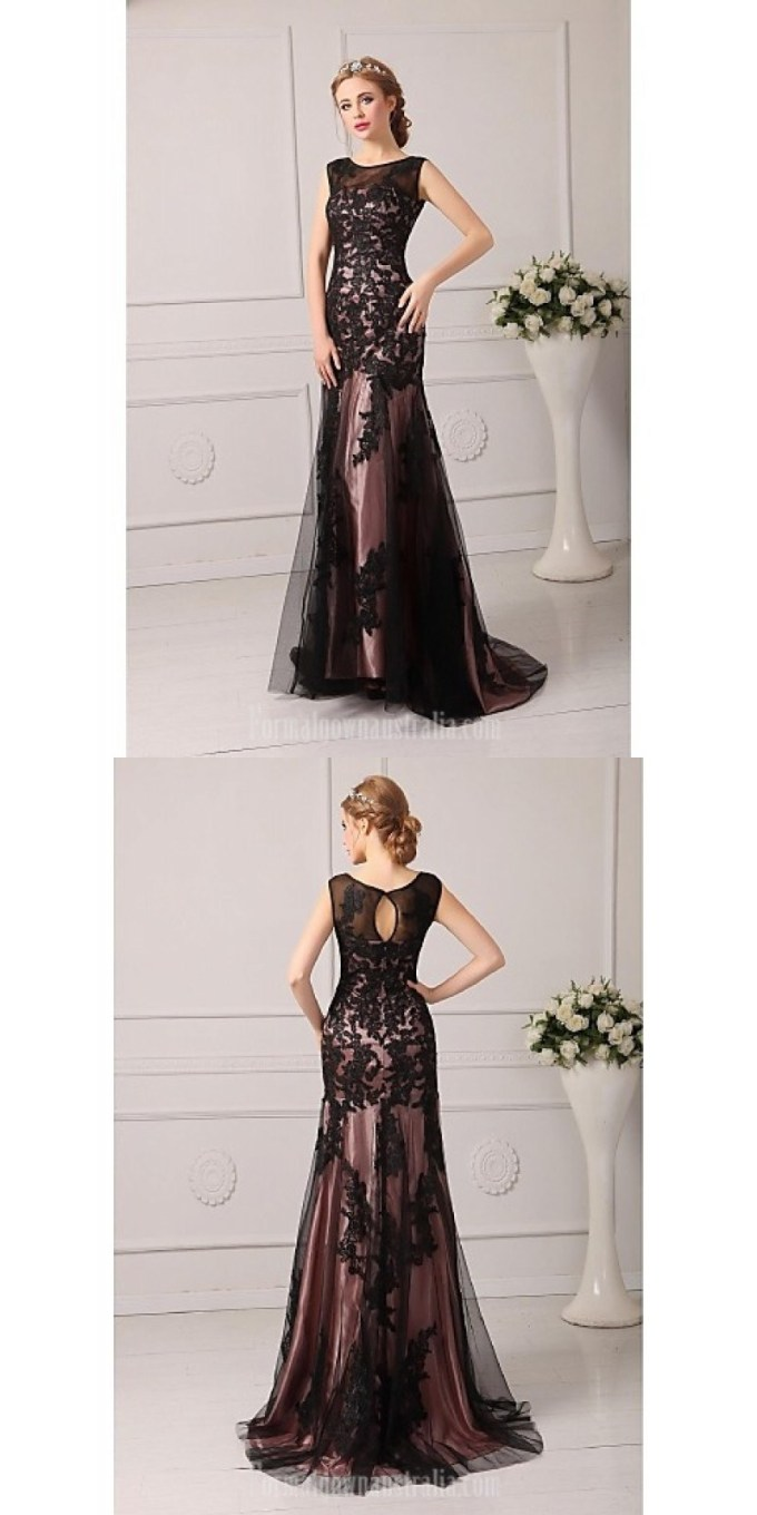 Australia-Formal-Evening-Dress-Black-Plus-Sizes-Dresses-Petite-A-line-Jewel-Court-Train-Tulle.jpg