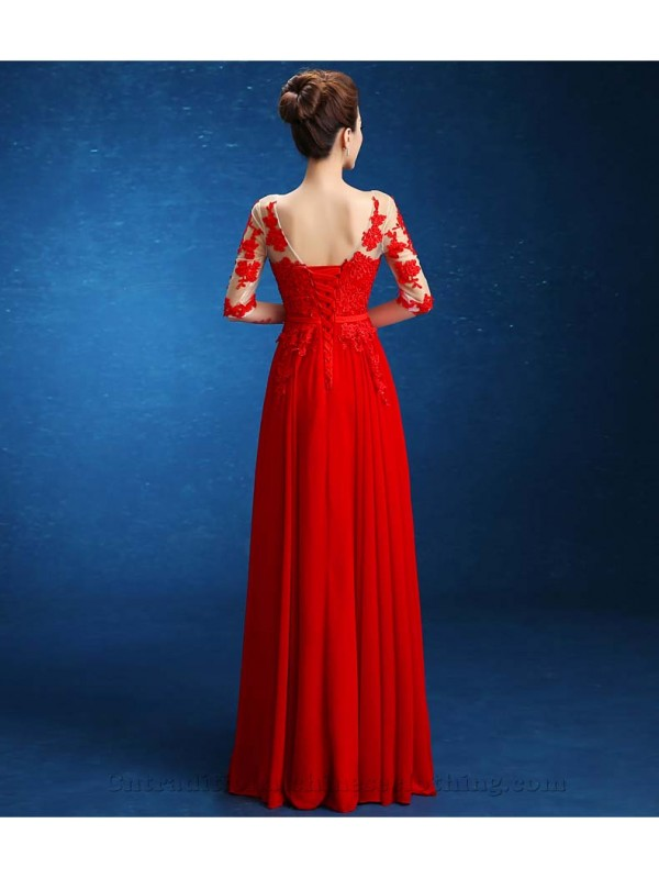 Floor-Length Beaded Open Back Lace-up Party Dresses Half Sleeves Embroidery Scoop Long Prom Evening Gowns 1-600x800.jpg