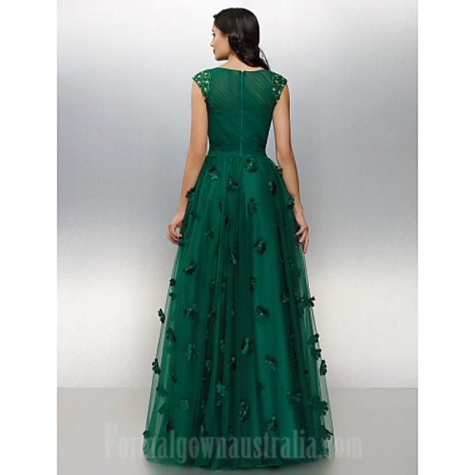 273Australia Formal Evening Dress Dark Green Plus Sizes Dresses Petite A-line Bateau Long Floor-length Tulle Dress_5-800x800.jpg