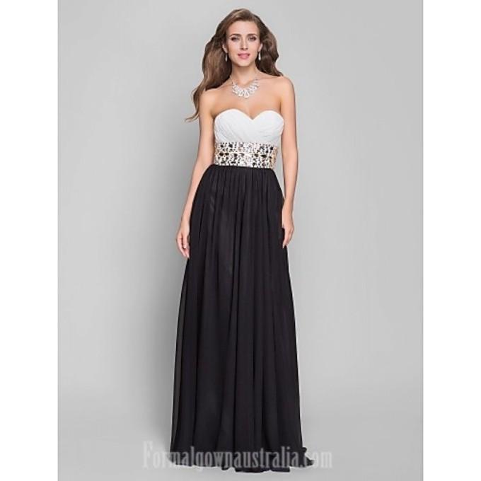3471 Australia Formal Evening Dress Military Ball Dress Black Plus Sizes Dresses Petite A-line Sweetheart Long Floor-length Chiffon-800x800.jpg