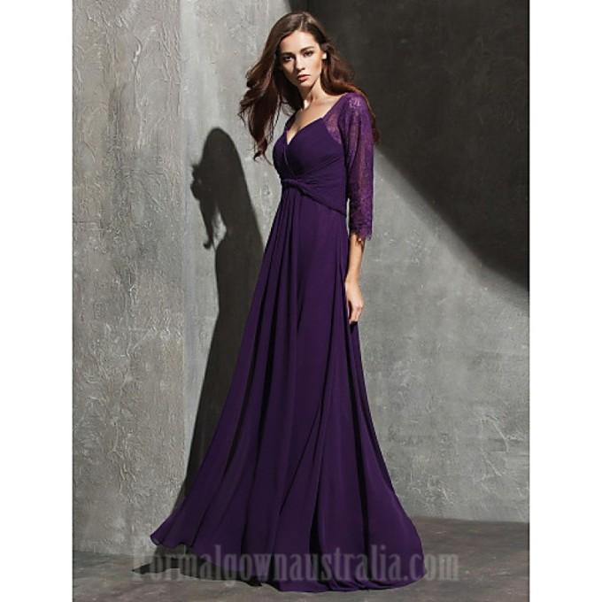 388 Australia Formal Evening Dress Grape Plus Sizes Dresses Petite A-line Sweetheart Long Floor-length Lace Dress Georgette-800x800.jpg