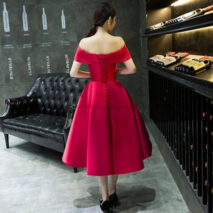 6-New-Tea-Length-Red-Satin-Embroidery-Evening-Dress-Lace-Up-Off-The-Shoulder-Formal-Dress--800x800